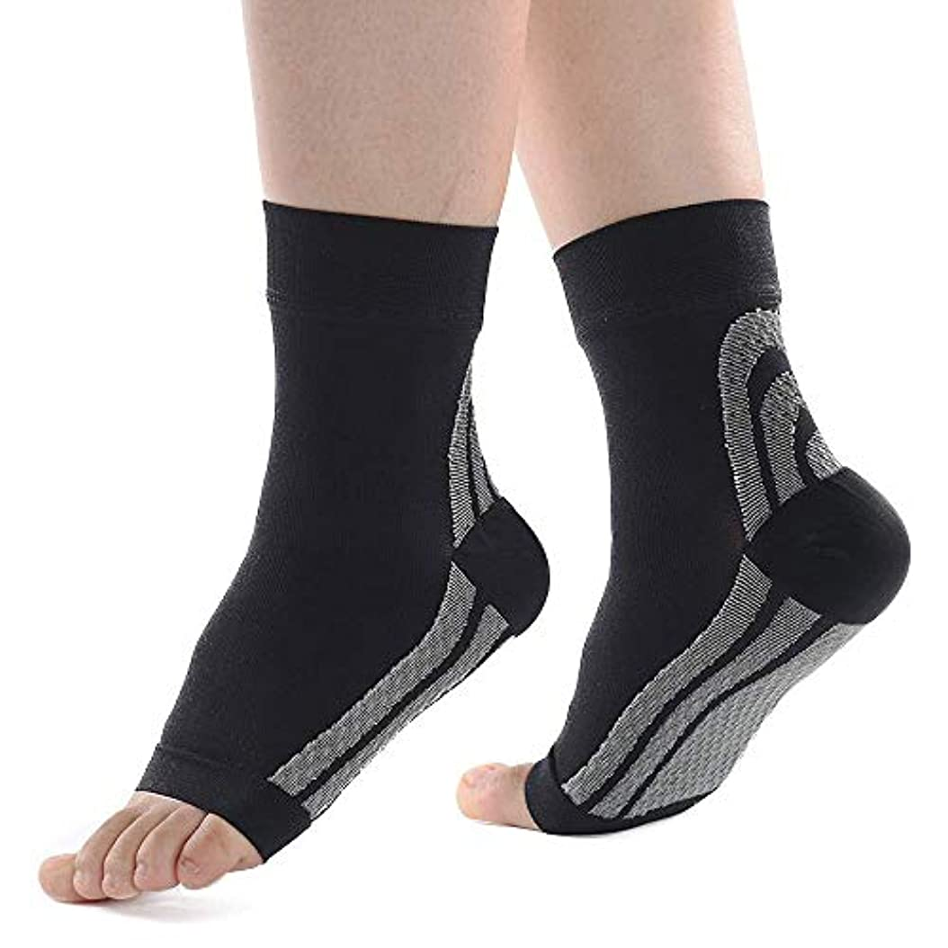 苦悩天の不十分扁平足 サポーター 足底筋膜炎 矯正 アーチサポーター 土踏まず 疲れを軽減 2枚入り