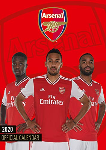 The Official Arsenal F.c. 2020 Calendar