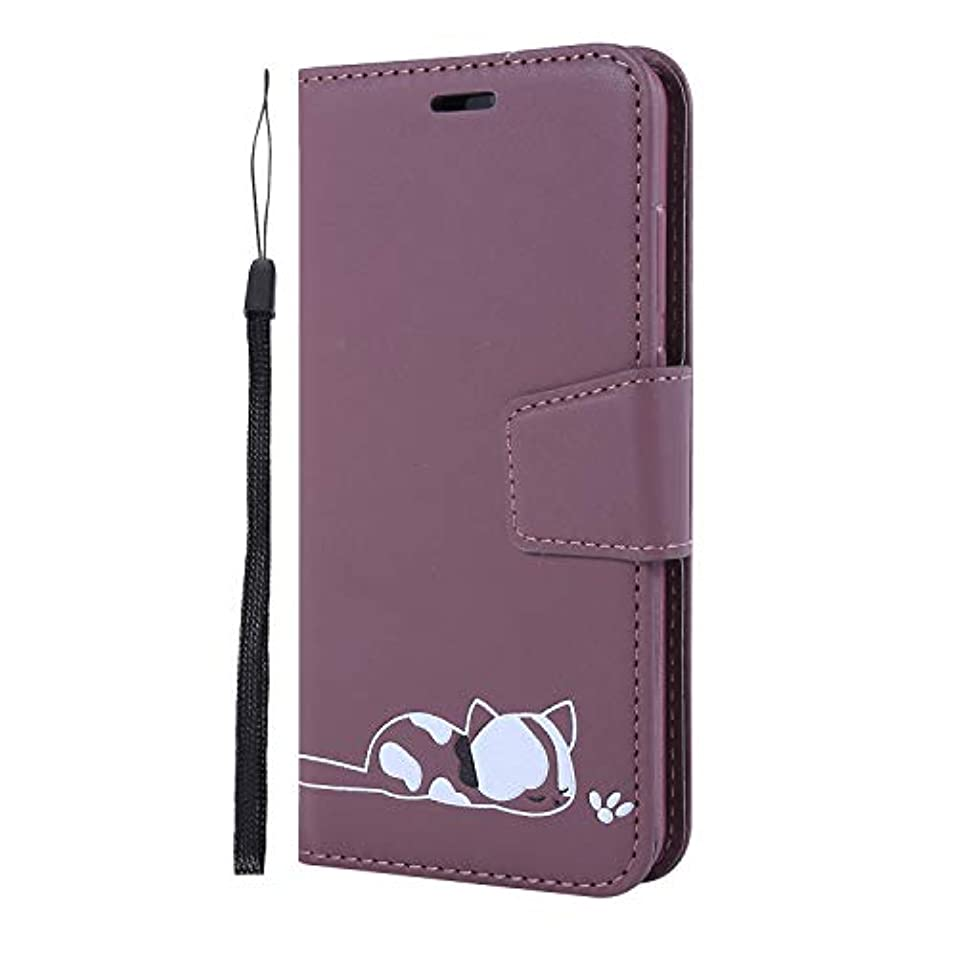 ネブテレビ潤滑するDocrax Huawei P20 Pro/docomo HW-01K ケース 手帳型 スタンド機能 財布型 カードポケット マグネット ファーウェイP20Pro 手帳型ケース レザーケース カバー - DOGHU050228#1