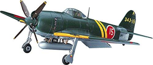 ハセガワ 1/48 日本海軍 川西 N1K2-J 局地戦闘機 紫電改 前期型 プラモデル JT73