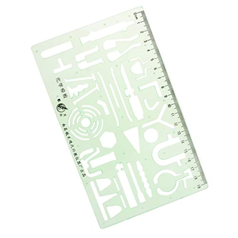 D DOLITY 幾何学 定規 プラスチック 図面テンプレート 3種選ぶ カーブルーラー 絵画 曲線定規 裁縫道具 - スタイル1