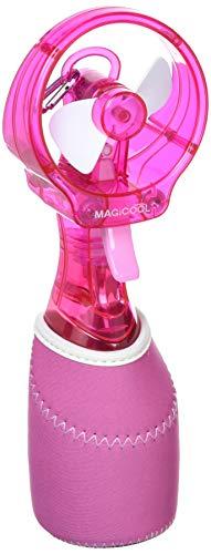 冷感ミストファン クイッククール(ピンク)熱中症・暑さ対策、予防 | 携帯ミスト | 柔らかファンで安全&風量しっかり DOCQC5PK