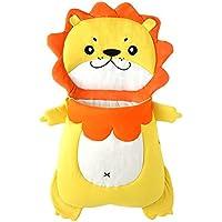 Tortor 1bacha(JP) 可愛い ライオン ベビー 赤ちゃん 寝袋 ソフト コットン シュラフ 黄色 獅子 寝具 新生児 柔らかい 布団 動物 お出かけ 出産祝い 誕生日 プレゼント