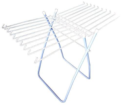 RoomClip商品情報 - カワセ タオルハンガー 万能・室内物干し台 S型 ブルー