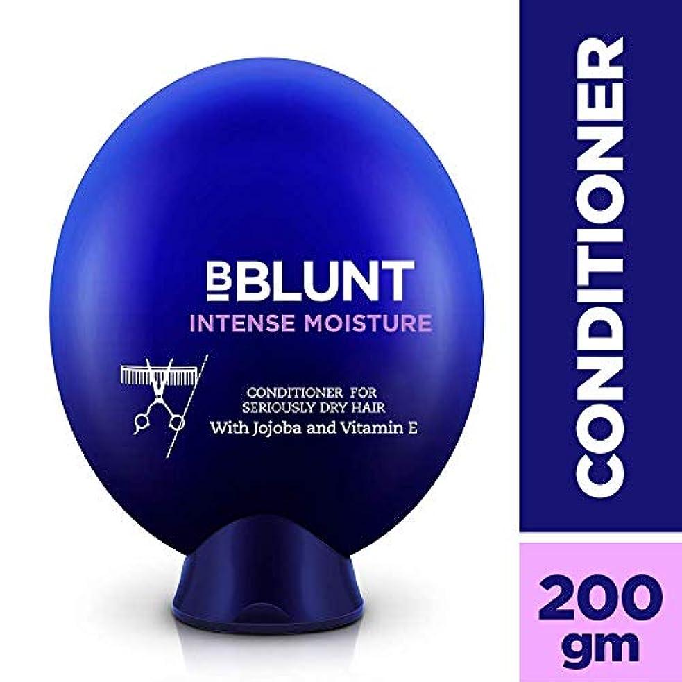 技術的な瞑想的異常なBblunt Intense Moisture Conditioner, 200g (Jojoba, Vitamin E, Hydrolyzed Keratin & Wheat Germ Oil)