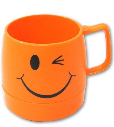 ダイネックス 保冷保温マグカップ ウインクオレンジ