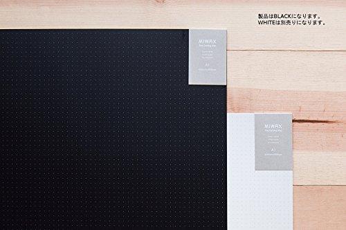 ミワックス カッティングマット 900x600mm ブラック  MX-A1-B