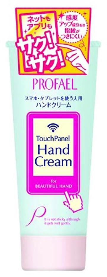 称賛使用法笑いプロフェール タッチパネル ハンドクリーム