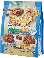 いぬのしあわせ ドッグフード プッチーヌ 7歳からの高齢犬用 低脂肪タイプ(セミモイストタイプ) 200g×12個 (ケース販売)