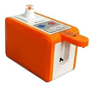 iimono117 ペットボトル サーバー 500ml / クイックボイル ボトルサーバー 卓上サーバー オフィス 寝室 病室 給湯 給水 湯沸かし器 自動 急速 簡単 湯沸かし 湯わかし ホット コーヒー インスタントコーヒー (オレンジ)