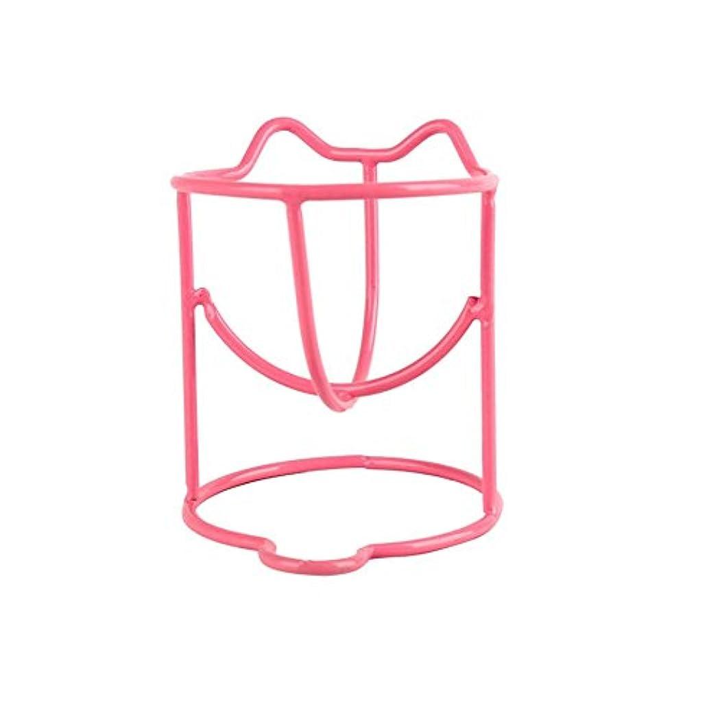 乗ってアルプス作成者ファッションメイク卵パウダーパフスポンジディスプレイスタンド乾燥ホルダーラックのセット