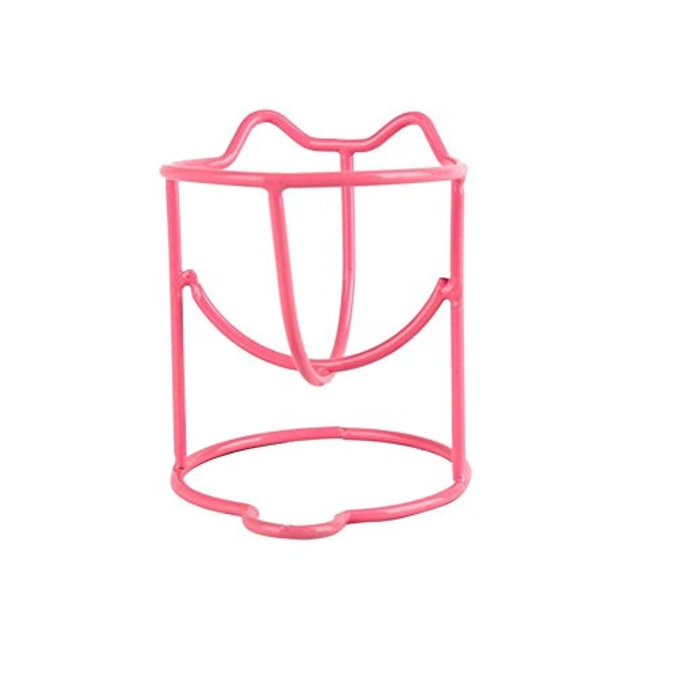 インスタント加速する項目ファッションメイク卵パウダーパフスポンジディスプレイスタンド乾燥ホルダーラックのセット