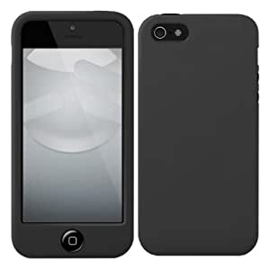SwitchEasy iPhone 5用シリコンケース Colors for iPhone 5s/5 プレアデスダイレクト限定品 Stealth ステルス SW-COL5-BK