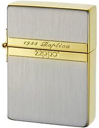 ZIPPO(ジッポー) オイルライター NO1935 ミラーラインSG シルバー×ゴールド