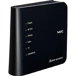 NEC 11ac対応 無線LANルーター 親機 (867+300Mbps)Aterm PA-WG1200CR