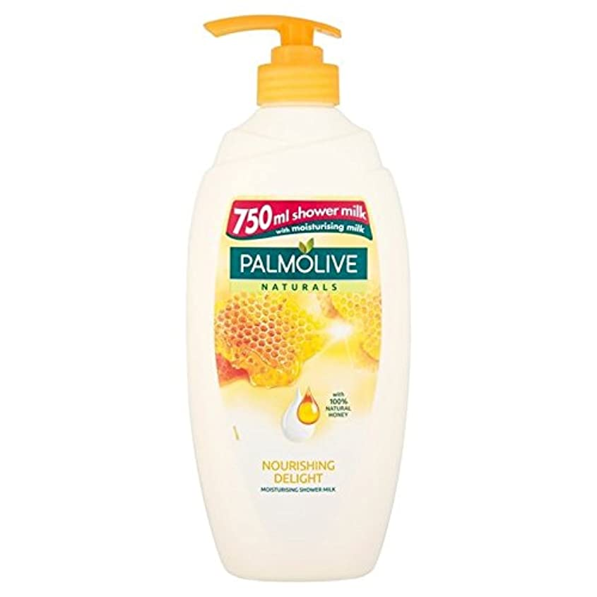 エレベーター壁紙検出Palmolive Naturals Nourishing Shower Naturals Milk with Honey 750ml - 蜂蜜の750ミリリットルとシャワーナチュラルミルク栄養パルモライブナチュラル [...
