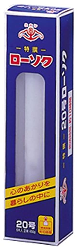 免疫するテープ膨らませるニホンローソク 大20号 450g