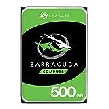Seagate BarraCuda Internal Hard Drive 500GB SATA 6Gb/s 32MB Cache 3.5-Inch (ST500DM009)
