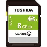 TOSHIBA SDHCカード 8GB Class10 UHS-I対応 (最大転送速度40MB/s) 5年保証 日本製 (国内正規品) SDAR40N08G