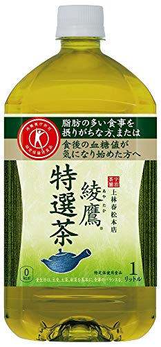 綾鷹 特選茶 1L ×12本