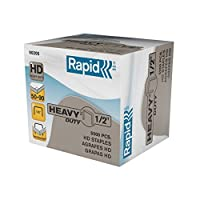 Rapid 90205 HD 1/2-Inch Staples 5000/bx [並行輸入品]