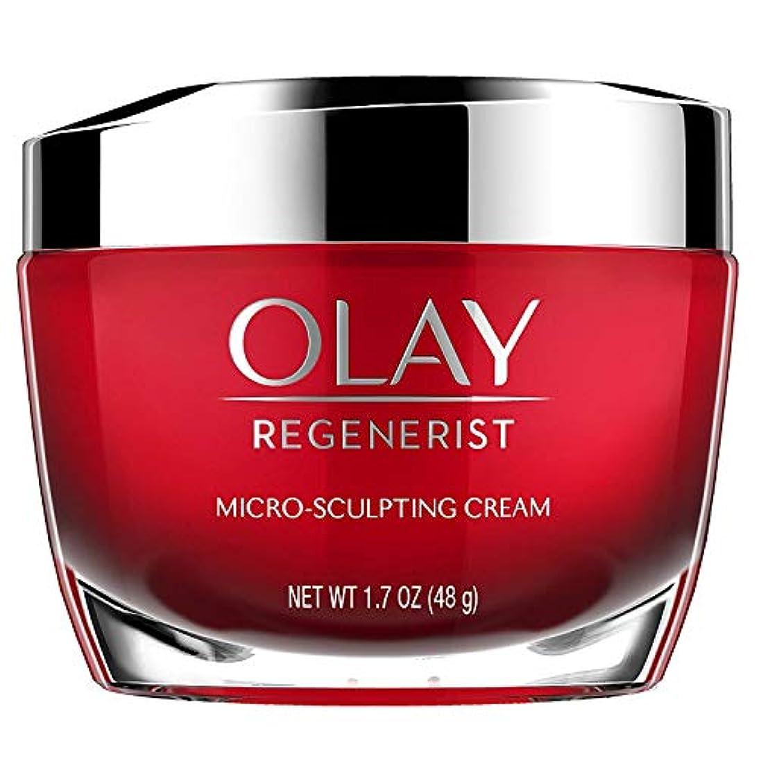 甲虫マネージャー武器[(オレイ) Olay] [Face Moisturizer with Collagen Peptides by Olay Regenerist, Micro-Sculpting Cream, 1.7 oz] (並行輸入品)