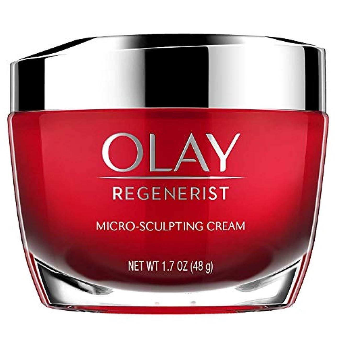 [(オレイ) Olay] [Face Moisturizer with Collagen Peptides by Olay Regenerist, Micro-Sculpting Cream, 1.7 oz] (並行輸入品)