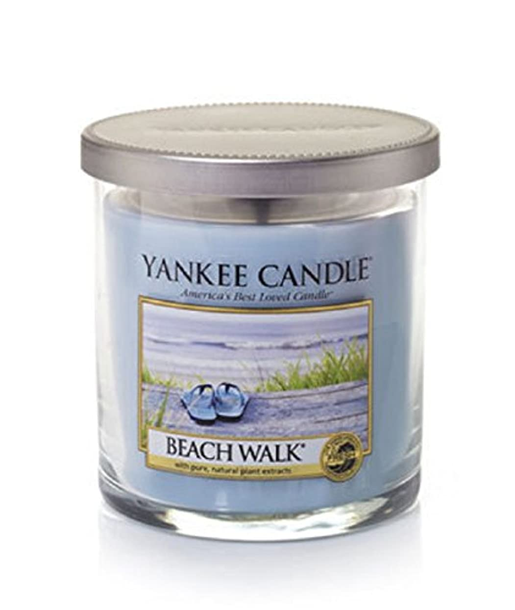 バレーボール行き当たりばったりクリケットYankee Candle Beach Walk Large Jar 22oz Candle Small Tumbler Candles ブルー 1162792