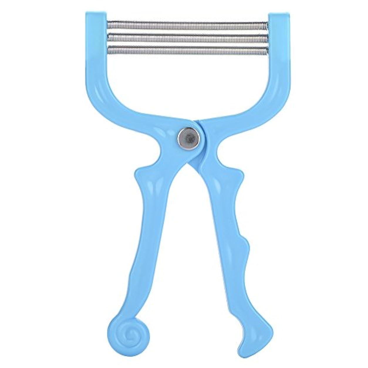 トーン六インチSoarUp 除毛 脱毛装置 ポータブル脱毛 痛くない除毛ケア 顔用 口 持ち運び安い(ブルー)