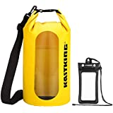 KastKing Floating Waterproof Dry Bag | Transparent Window | Double Layer Gives Extra Security | 500D PVC: Tear Resistance | with IPX8 Floating Waterproof Phone Pouch