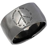 KEN BLOOD ケンブラッド フリーダム シルバー リング ブラック 指輪 9~25号 KR-233BK