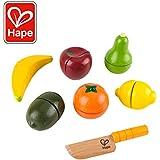 Award Winning Hape  Fresh Fruit Wooden Kitchen Play Food Set