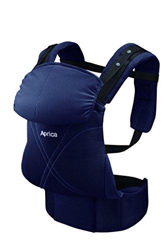 Aprica (アップリカ) 抱っこひも コラン ハグ AB リュクス ネイビー NV (つかれにくい腰ベルトタイプ + 新...