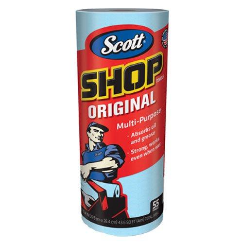SCOTT Shop Towels ブルーロール 55枚65900