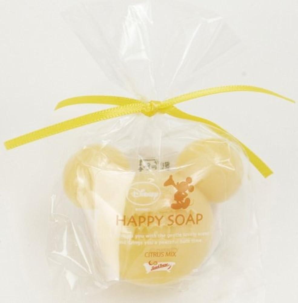 三番どれお金ミッキーマウスのプチギフト ハッピーソープ イエロー(オレンジの香り)