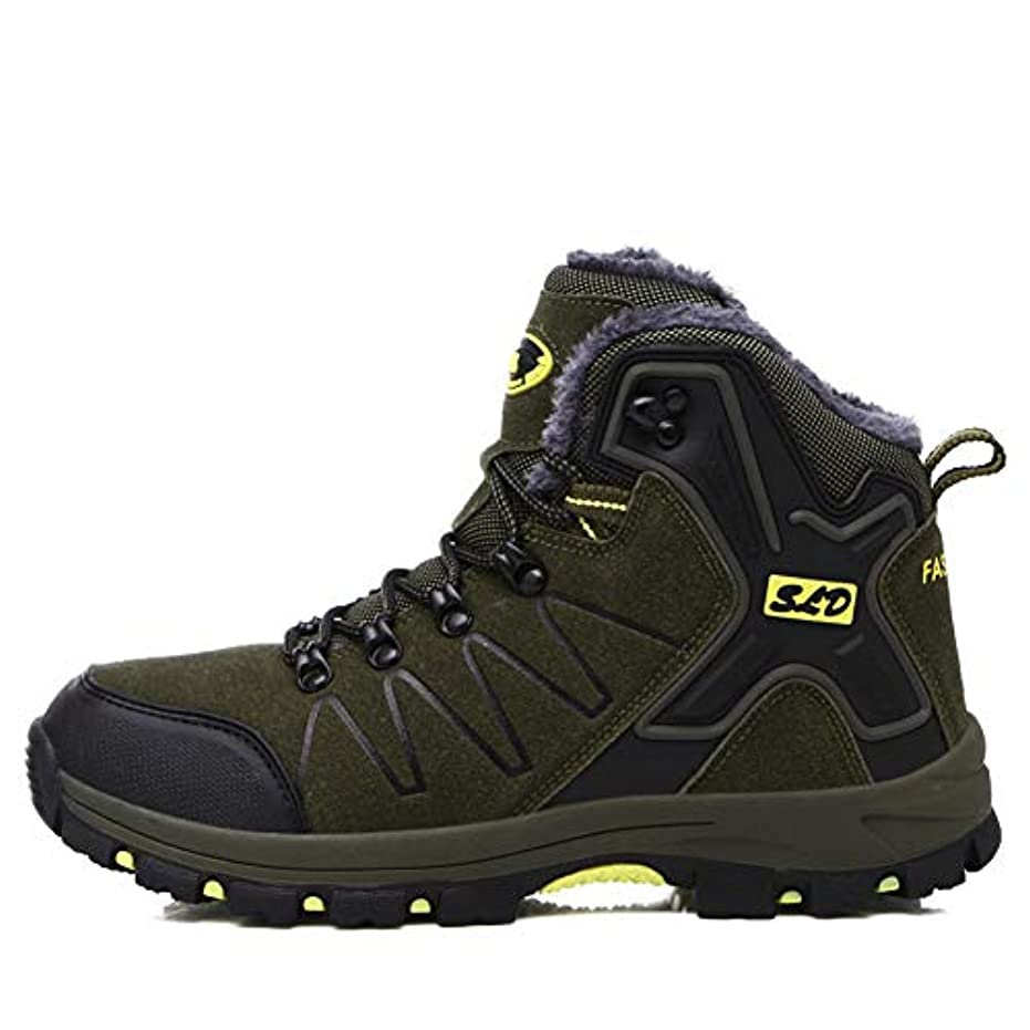 飢直感ファイナンス[TcIFE] トレッキングシューズ メンズ 防水 防滑 ハイカット 登山靴 大きいサイズ ハイキングシューズ メンズ 耐磨耗 ハイキングシューズ メンズ 通気性 スニーカー
