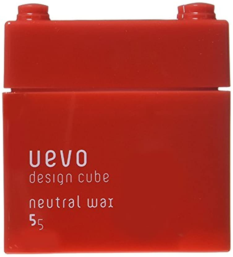 保守的エレベーター空ウェーボ デザインキューブ ニュートラルワックス 80g