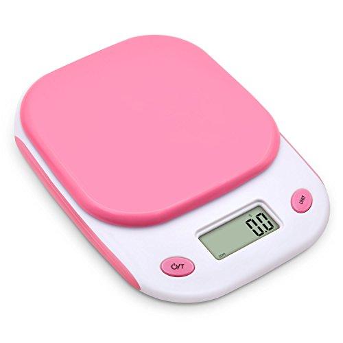 Bodyguard はかり デジタル クッキング スケール 電子秤 0.1gから3kgまで 風袋機能 オートオフ機能 多用途計量器 ピンク