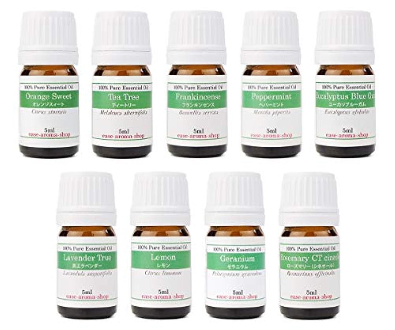 並外れて離婚名前で【2019年改訂版】ease AEAJアロマテラピー検定香りテスト対象精油セット 揃えておきたい基本の精油 2級 9本セット各5ml