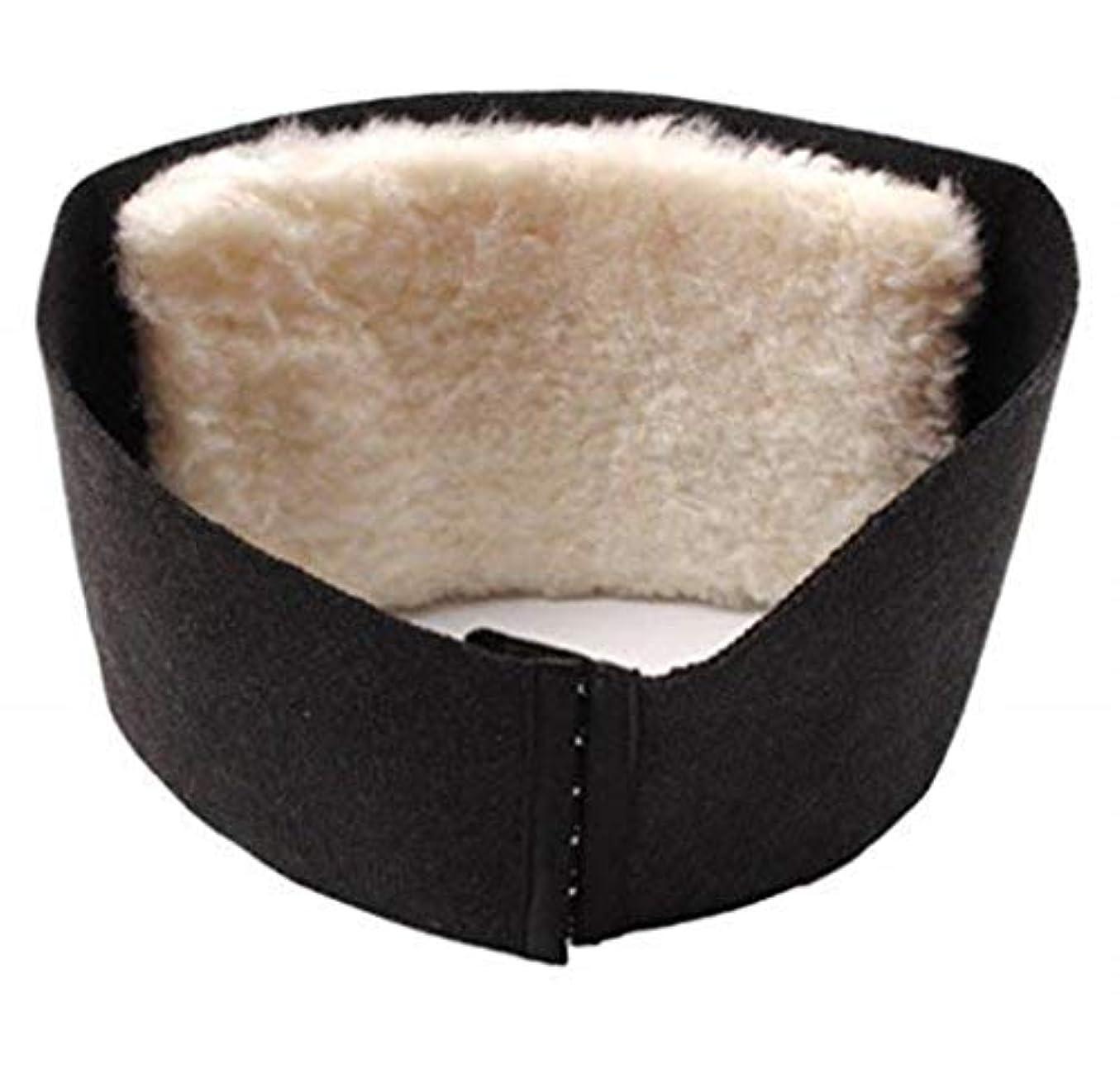 の間でスワップうつスポーツ/仕事/フィットネスに適したウエスト暖かいベルト、ウール医療ウエストサポートベルト、暖かい腰のサポート、