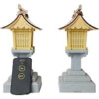 山六産業 LED神前灯籠 銅屋根 5号 電池式