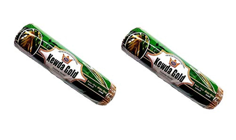脚本家プログレッシブ散歩に行くKevda Gold Insense Sticks Pack of 2 (250g x 2)