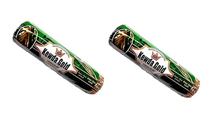 呼吸する半導体リスキーなKevda Gold Insense Sticks Pack of 2 (250g x 2)
