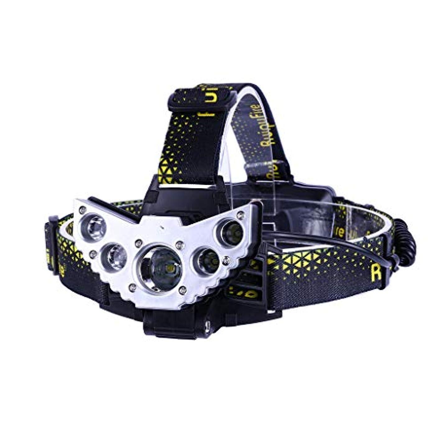 乳白色軍艦追放する5*XM-L T6 LED Headlight ヘッドライト ヘッドランプ 受電可能 5点灯モード 18650 3.7v電池 角度調整可能 TangQI 高輝度 アウトドア キャンプ 防水 停電時用 ハイキング サイクリング 防災 登山 夜釣り 夜間走行 ウォーキング スポーツ 野外活動 自転車 作業に適用
