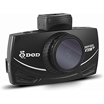 DOD LS470W+ ドライブレコーダー 日本語メニュー対応/ 西日本LED対応/ FULL HD 1080P、常時録画、夜間超高画質WDR、GPS+G-Sensor、CPLフィルター付
