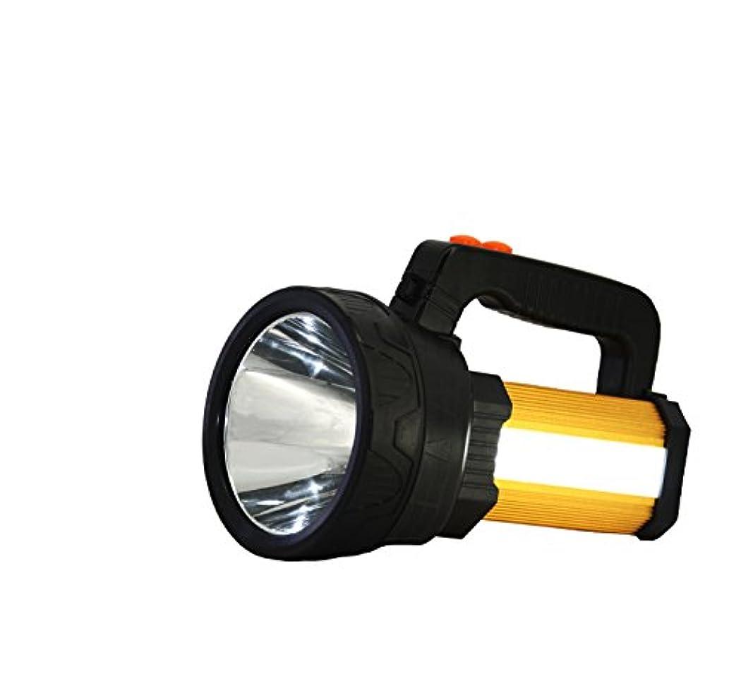 落ちた平均ピルファーLED充電式ハンドヘルドサーチライトハイパワースーパーブライト5種類の点灯パターン8000 MA 10000ルーメンクリエイティブスポットライトトーチランタン懐中電灯
