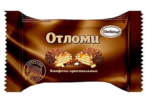 ロシアチョコレート AKKOND アッコンド クリスピーウエハース チョコレートデザート 「OTLOMI(オトロミー)」個包装 5個セット