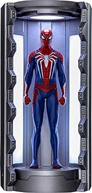 【ビデオゲーム・マスターピース COMPACT】『Marvel's Spider-Man』ミニチュア・フィギュア シリーズ1 スパイダーマン(アドバンスド・スーツ/スパイダースーツ格納庫付き)