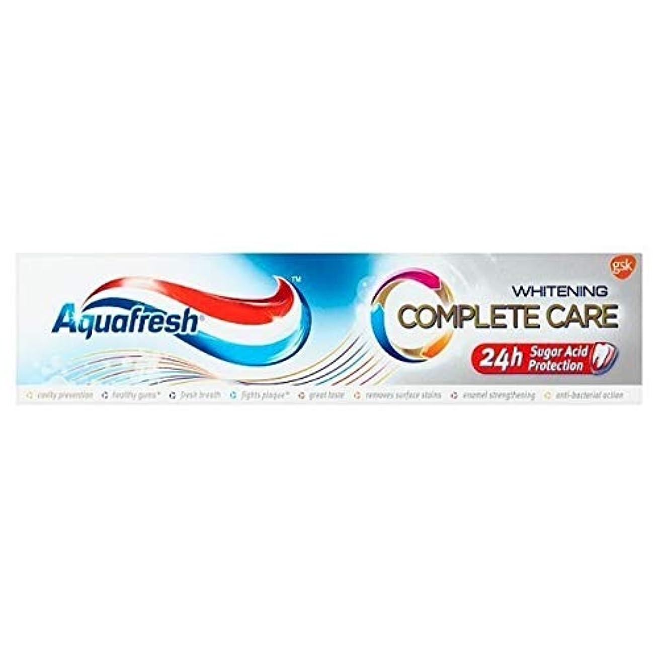 故障中分数非アクティブ[Aquafresh ] アクアフレッシュ完全なケア美白100ミリリットル - Aquafresh Complete Care Whitening 100ml [並行輸入品]