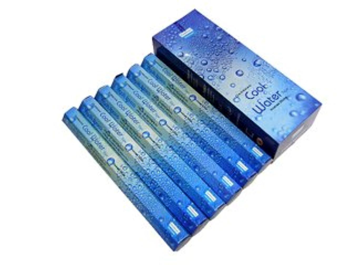 柔和散歩に行く不適DARSHAN(ダルシャン) クールウォーター香 スティック COOL WATER 6箱セット